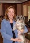 Photo of Linda Lanci, Magic Radio 105.1 FM's dog