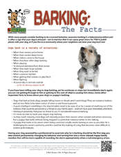 BarkingFacts